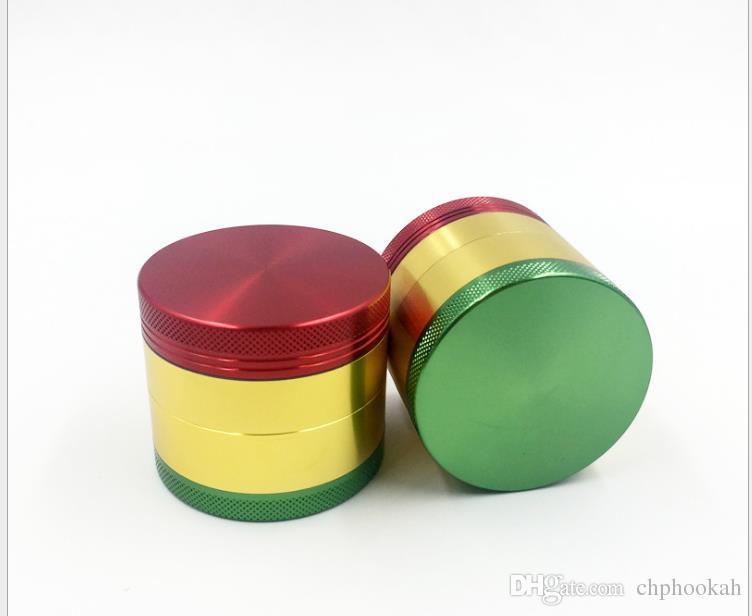 Smerigliatrice colorata Fumatori Macina quattro strati di sigarette