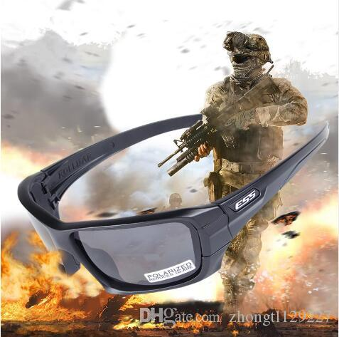 e267f858c7 ESS ROLLBAR Polarized Tactical Sunglasses UV Protection Military Glasses  TR90 Army Google Bullet-proof Eyewear