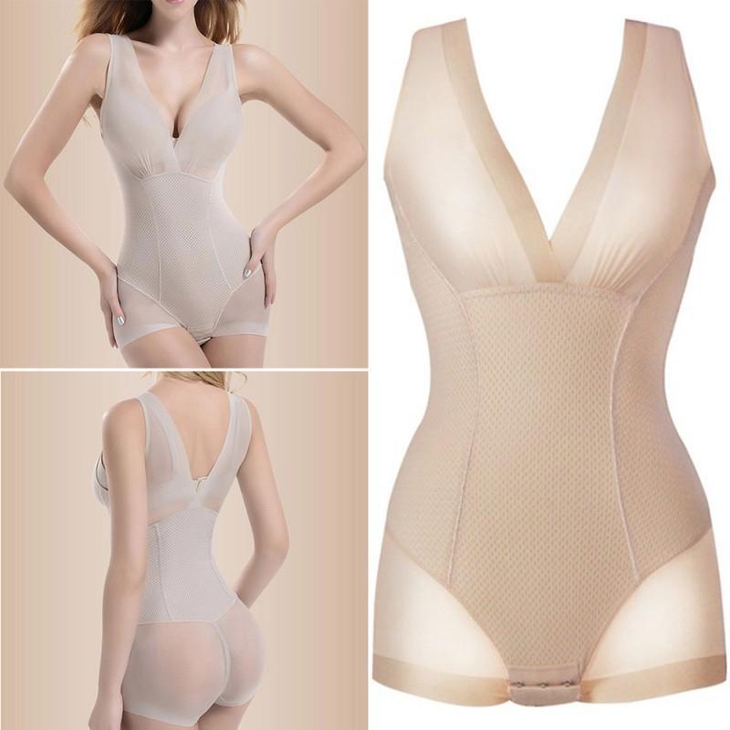 1f57bf7fd8 Wholesale- Lady Nude Black Slip Body Shaper Firm Tummy Control ...