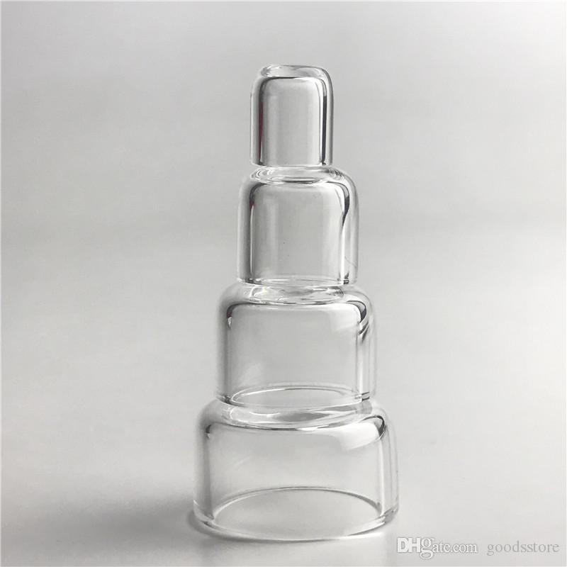 Neue Quarz-Insert-Schüsseln Phat Tropfen Skillet mit Flat Top Bottom Thermal Nail für L XL XXL Thick Domeless Banger Nail Wasserrohre
