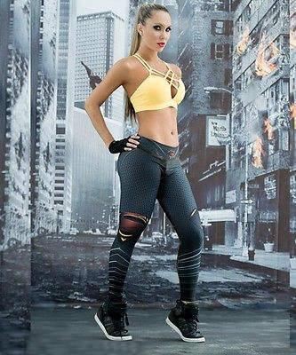 2018 Fashion Quality Lenggings Sport Wear Tight Skinny Gym ...