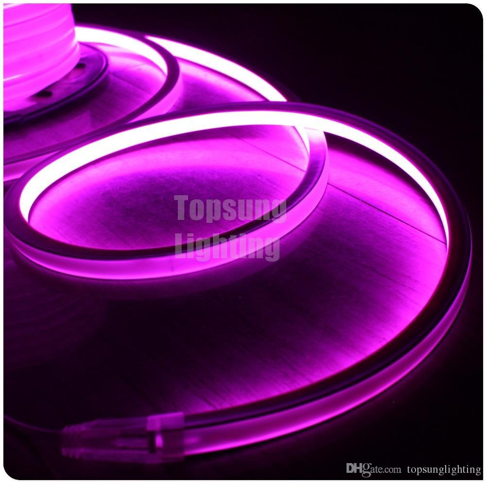 Hot sale 16x16mm 12v 24v neon wire 120v 220v 50m pink color spool hot sale 16x16mm 12v 24v neon wire 120v 220v 50m pink color spool flexible led strip neon lighting square led neon pink led neon lighting led neon rope aloadofball Images