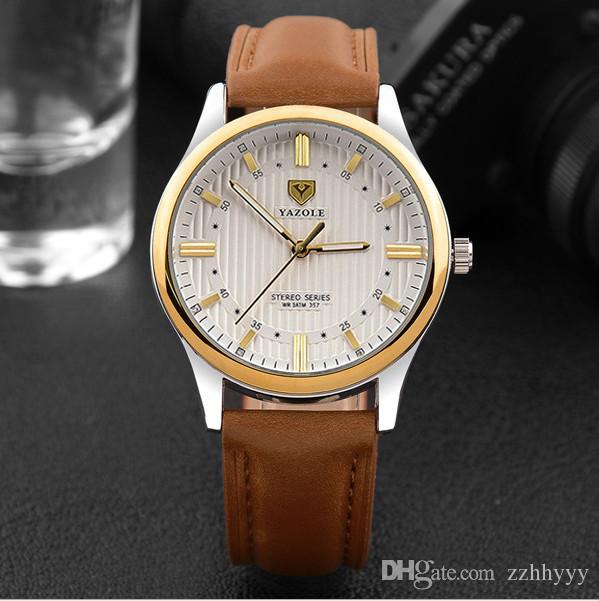 Men's watch waterproof noctilucent customize LOGO quartz watch