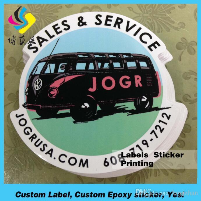 China Custom Top Quality Private Printing Die Cut Vinyl Sticker - Custom vinyl stickers waterproof