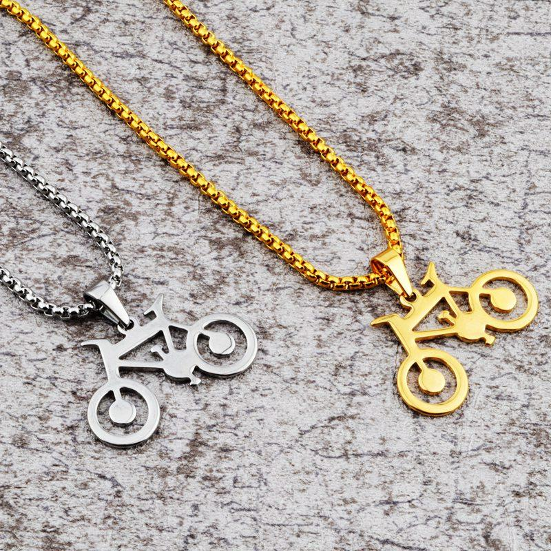 Wholesale goofan bicycle pendant necklace stainless steel fashion wholesale goofan bicycle pendant necklace stainless steel fashion jewelry for men women gift stn026 small pendant necklace personalized pendant necklace aloadofball Gallery