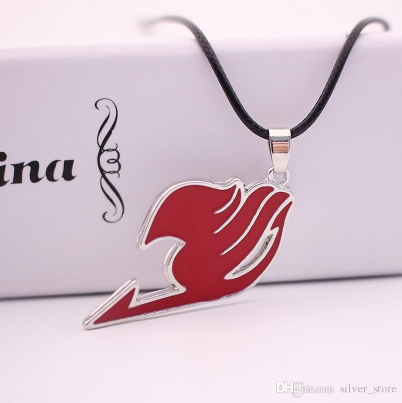 High quality Fairy Tail of the Association logo alloy necklace WFN509 with chain a
