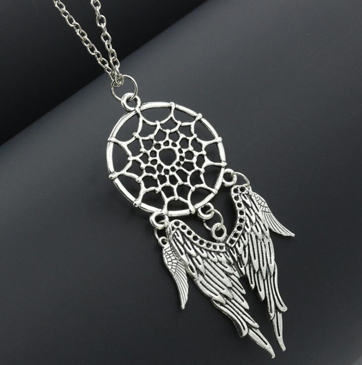 Vintage Hollow Pendant Necklaces Retro Leaf Bohemian Statement Necklace jewelry for women Girls party accessories gift