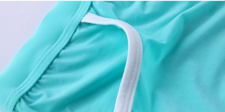 Men silk Large Boxers Underwear Pocket Style Low waist SOFTY undies male underpants U convex Size M L XL