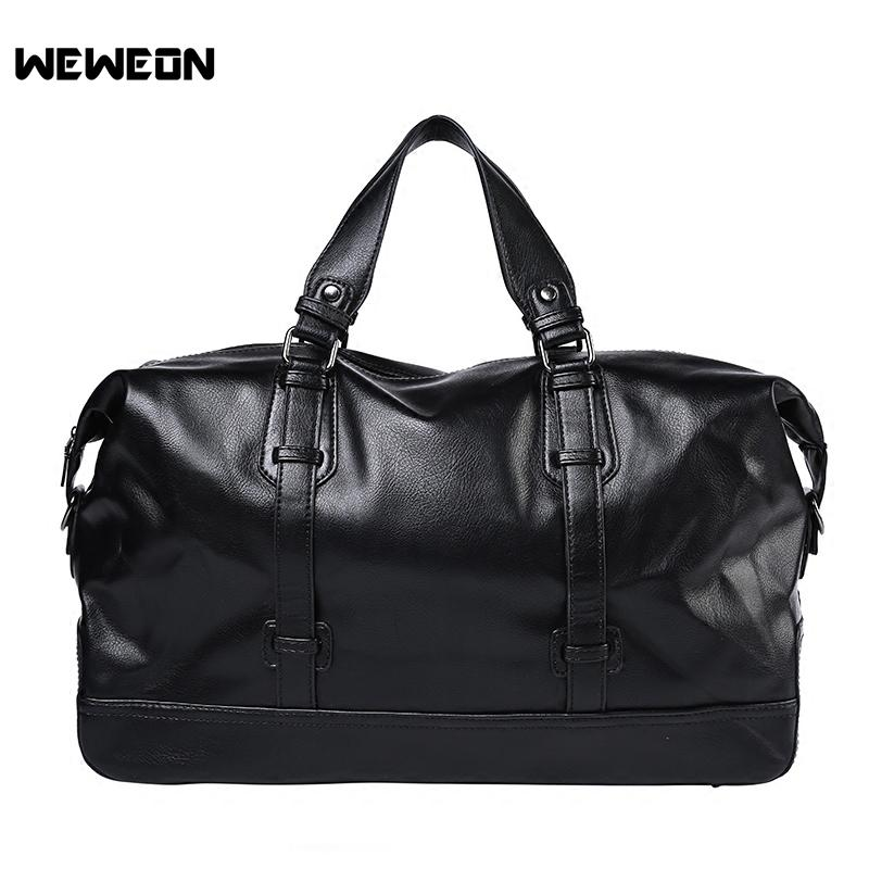 2019 PU Leather Gym Bag Men Women Sports Bag Vintage Training Fitness Bags  Durable Outdoor Multifunctional Traveling Handbags From Chen394931608, ... d8501b4c37