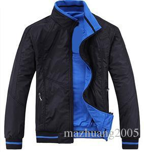 New 2018 spring and autumn period and the Double Jacket for BM fashion casual Coat Jackets men Sportswear Size:XL-5XL