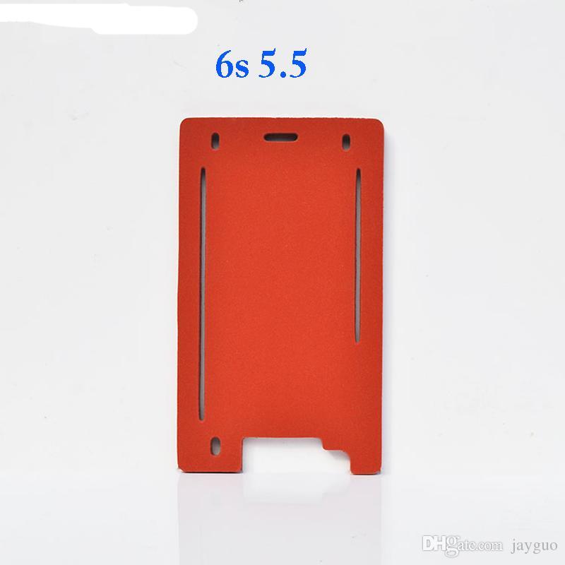 Qualidade superior 1 conjunto de vidro da frente com moldura de precisão molde de alumínio para iphone 6 plus 6 s plus 7 além de 5.5