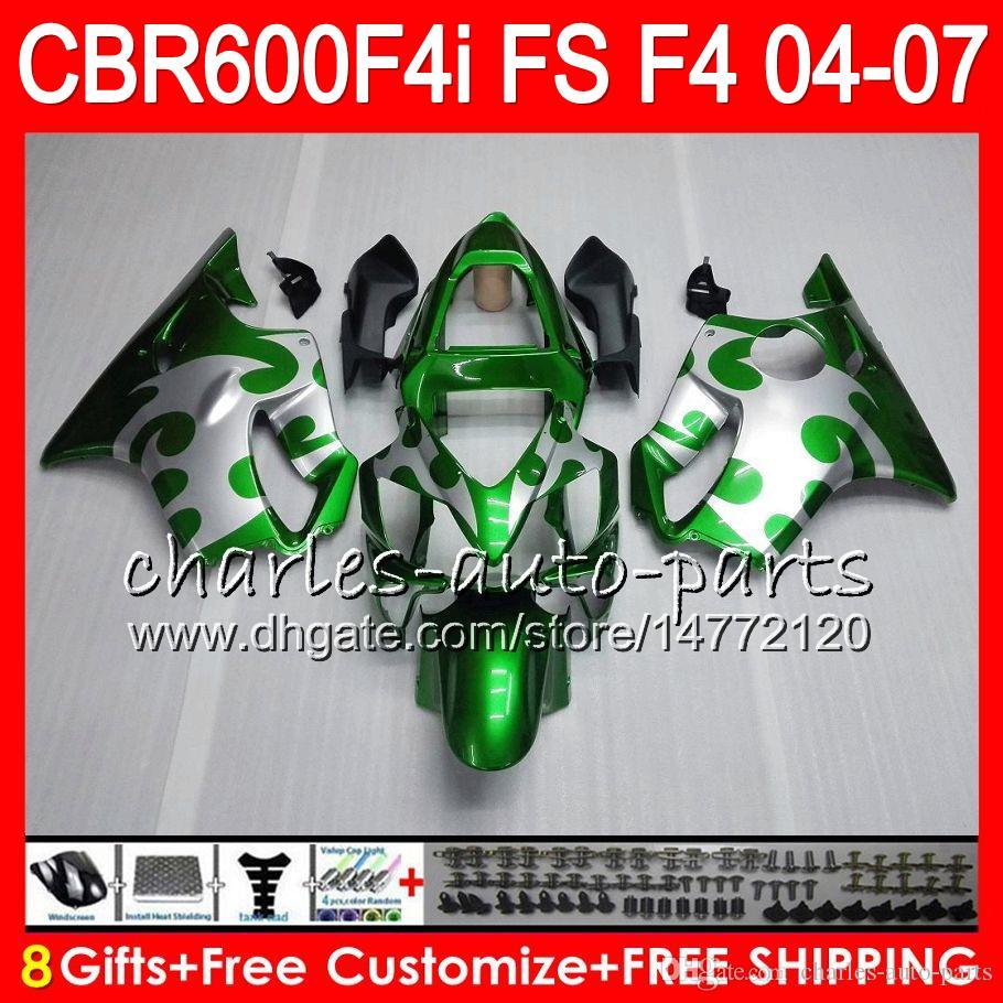 8Gifts pour HONDA CBR600FS FS CBR600F4i 04 05 06 07 AAHM24 CBR600 F4i CBR 600F4i CBR 600 F4i 2004 2005 2006 2007 Carénage