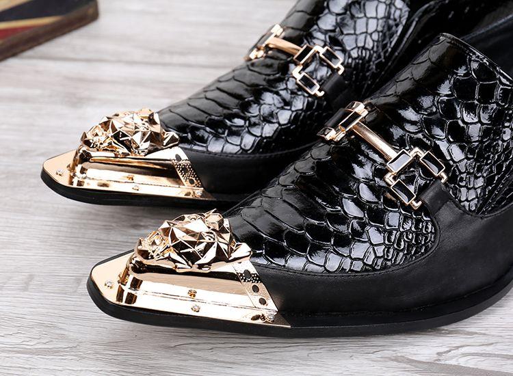 Qiu dong temporada aumentou sapatos masculinos homens ternos de negócios lazer sapatos masculinos han edição de ponto de couro respirável definir o pé