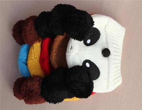 Kids Cap Baby Crochet Hats Boys Girls Caps Hats Animal Winter Hats Infant Beanie Hat Children Caps Fashion Hand Knitted Caps