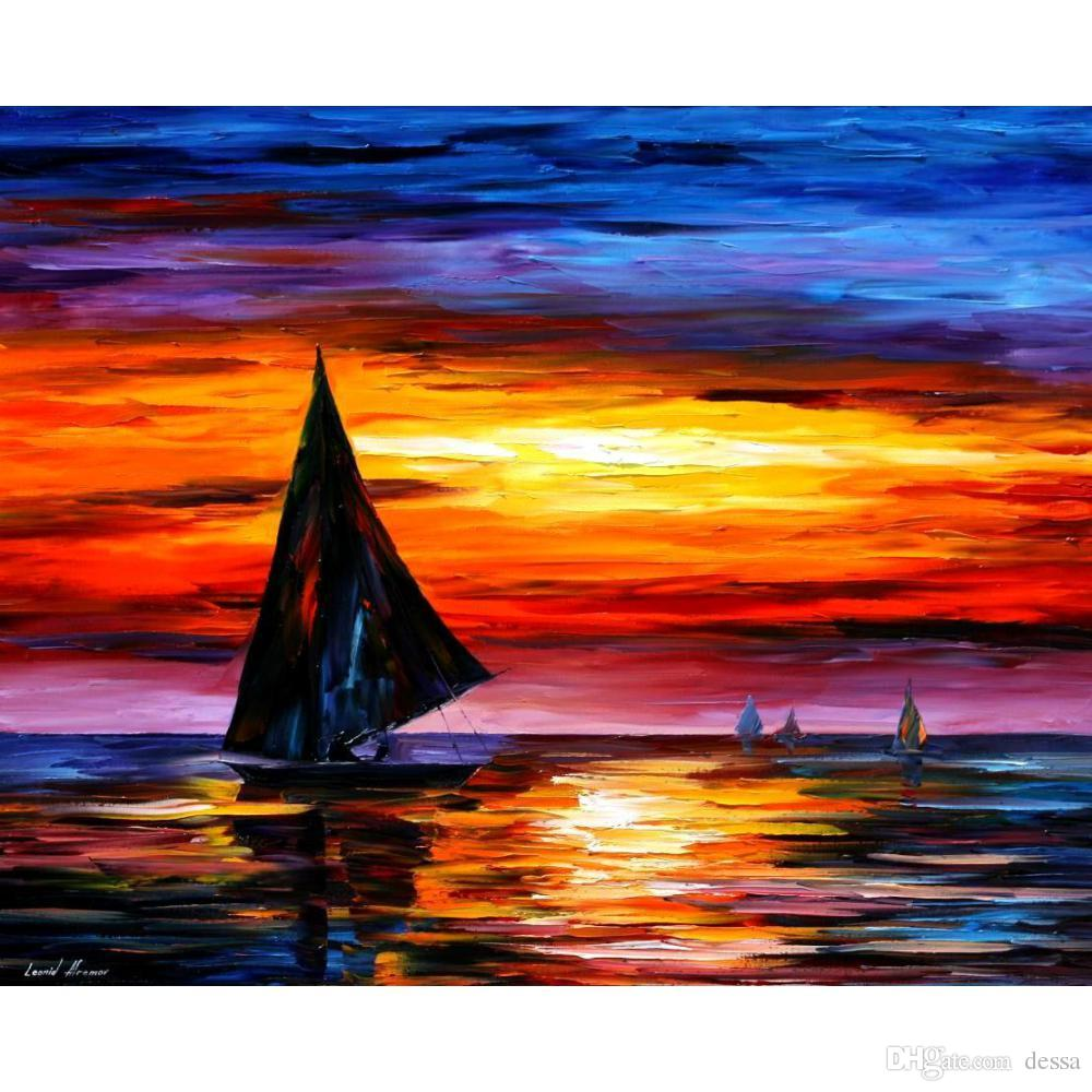 paesaggi marini dipinti