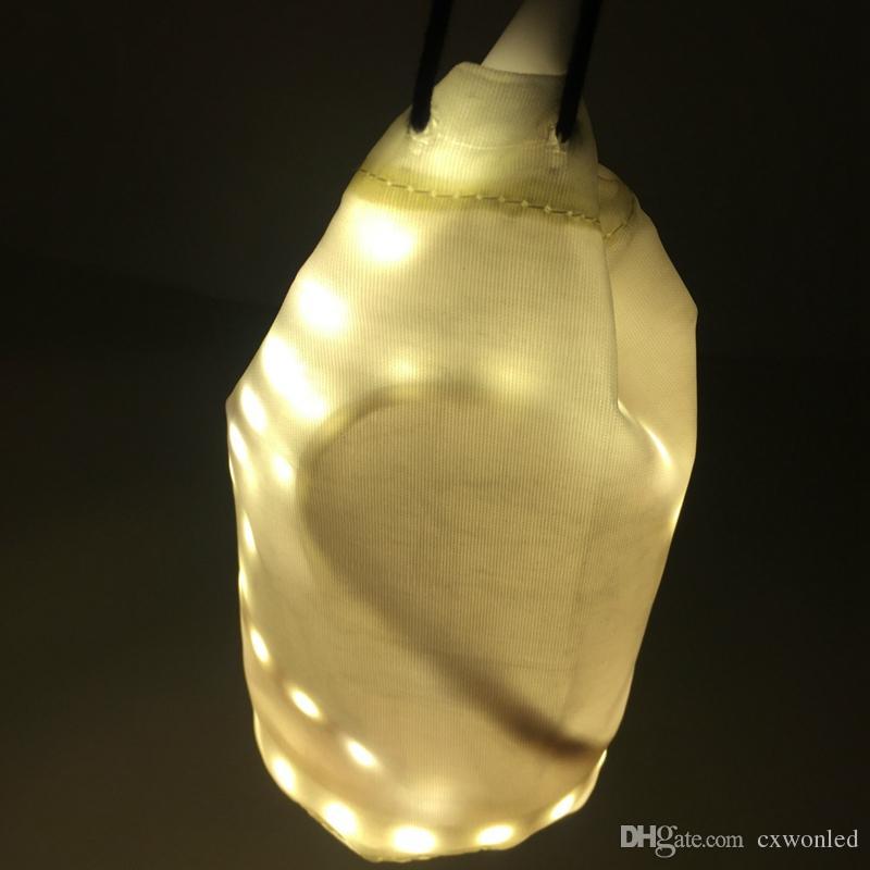 USB LED Streifen Licht Flexible Weiß Warmes Licht Tragbare 1,5 mt Wasserdichte SMD 3528 Laterne Lampe Für Camping Wandern DC5V