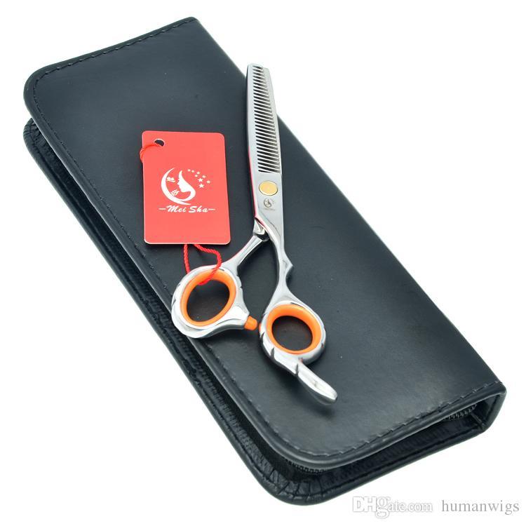 6.0Inch Meisha JP440C Stainless Steel Thinning Scissors Barber Scissors Hairdressing Scissors Barber Shears Sharp Edge Shears ,HA0151