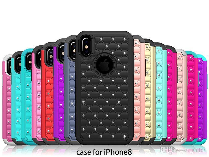 luxury bling glitter iphone 8 case