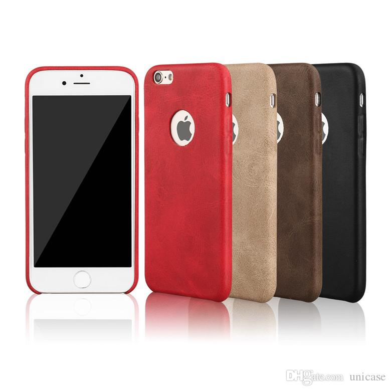 New Leather Wallet PU Case Cover For Iphone 7 7plus 6/6s Cell Phone Cases Covers Slim Retro Luxury 6s S7 Edge