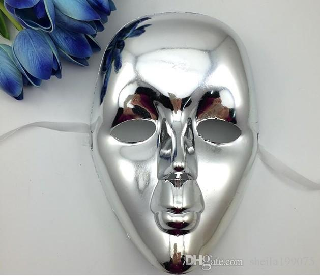 Hip-Pop Jabbawockeez maske kaplama renkli maske Sokak Adım Dans Partiyi maske
