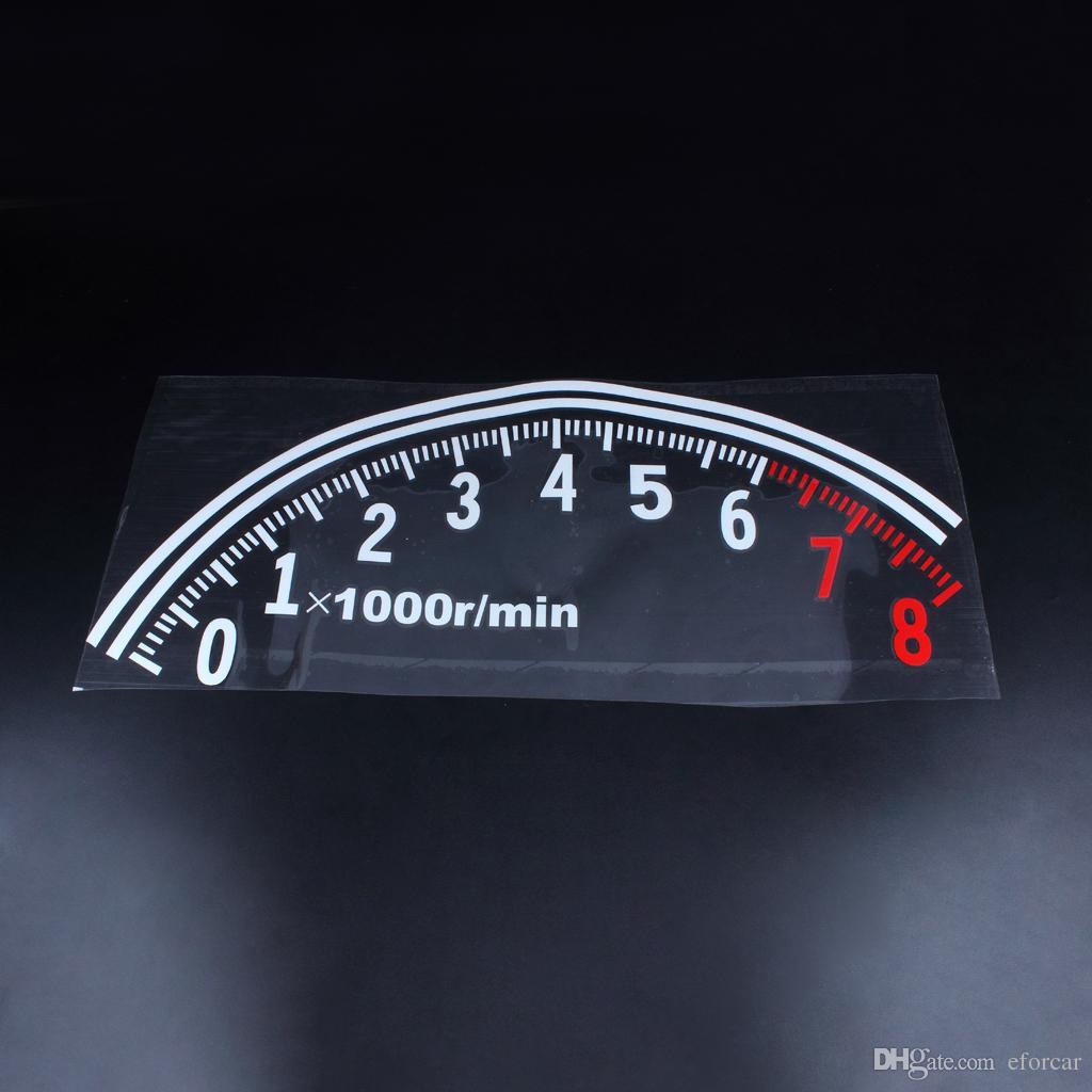자동차 차량 창용 자동차 반사 속도계 데칼 스티커 로고