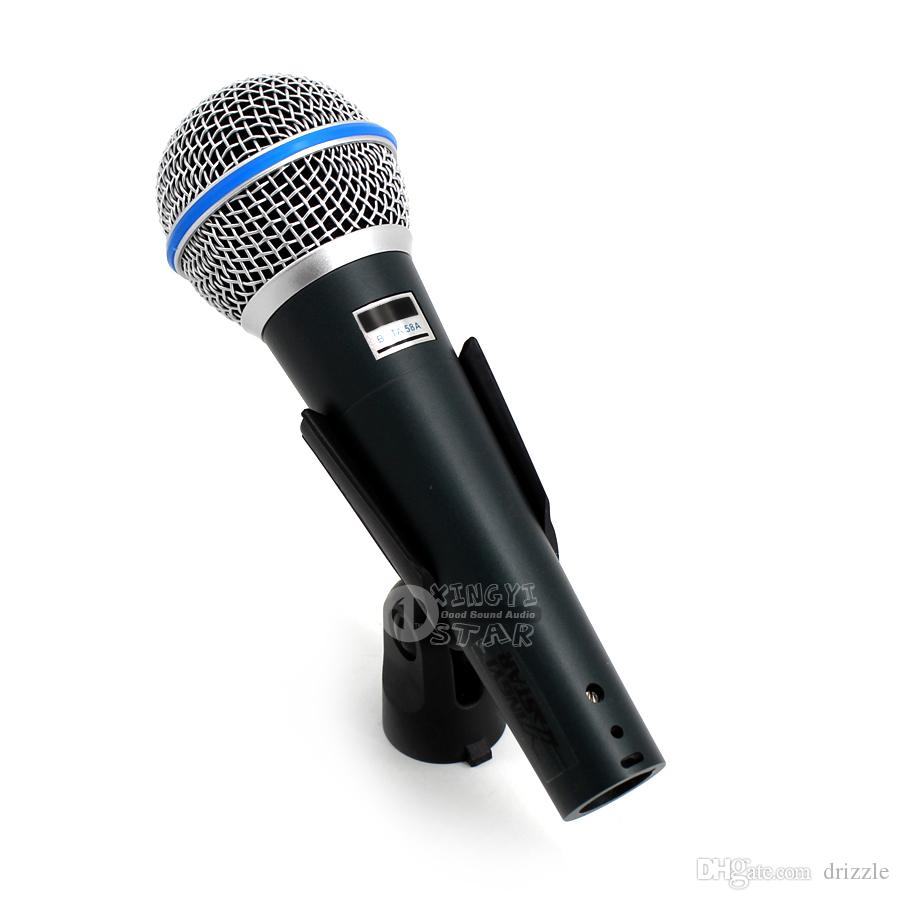 Super Cardioid Dynamic Vocal Wired Microphone Professional Microfono Mike For Beta58A Singing Karaoke Mixer Audio Record Video PC Microfone