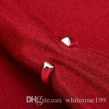 Hurtownie - detaliczna najniższa cena prezent świąteczny, darmowa wysyłka, nowy pierścień mody 925 r30