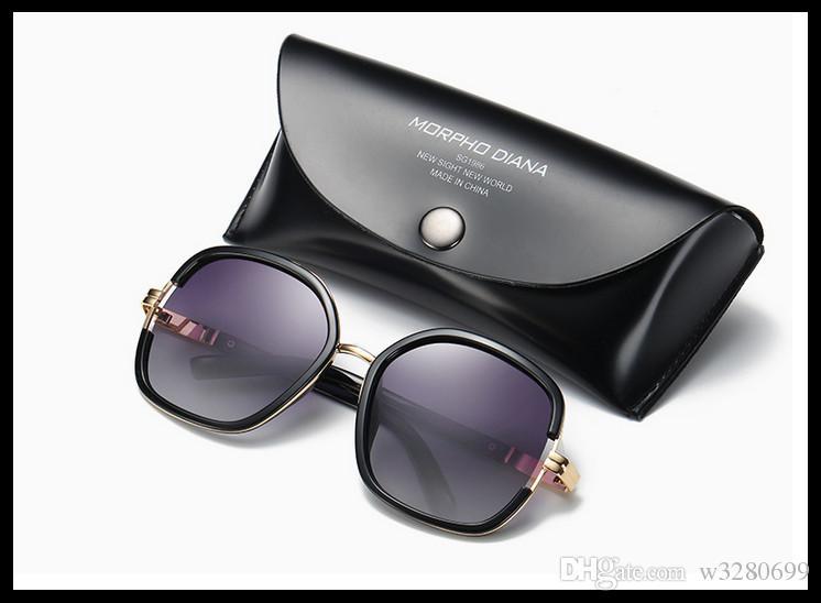 Yeni 2017 MS sıcak tarzı polarize uv koruma güneş gözlüğü moda gözlük ince yüz güneş gözlüğü ücretsiz gönderilir
