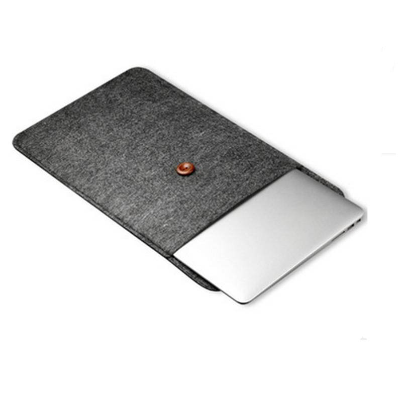 Hot Woolfelt Cover Case 11 12 13 15 13.3 Inch Protective Laptop Bag Sleeve for Apple Macbook Air Pro Retina Laptop Case free