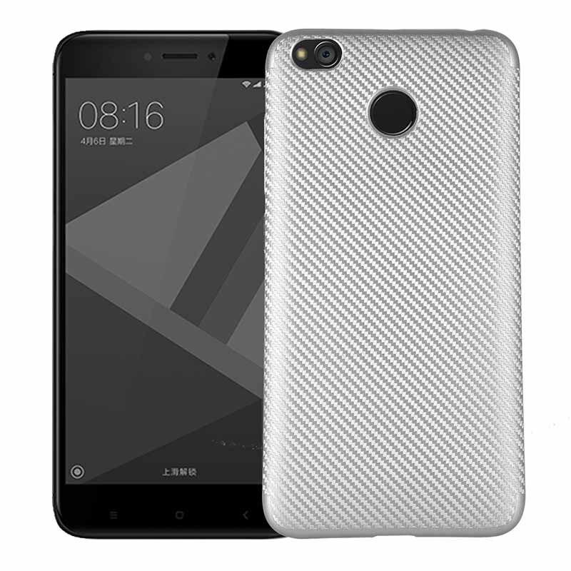 Redmi 4X Cover for Xiaomi Redmi 4X Case Soft TPU & Carbon Mobile Phone Back Cases for Xiaomi Red mi 4X case