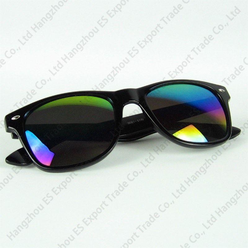 Fabrik-Preis-Weinlese-Retro- klassische Sonnenbrille-heiße Verkaufs-Spiegel-Linsen, die Blumenrahmen mehr Farben-Metall-Hing-Großverkauf-Sonnenbrille drucken