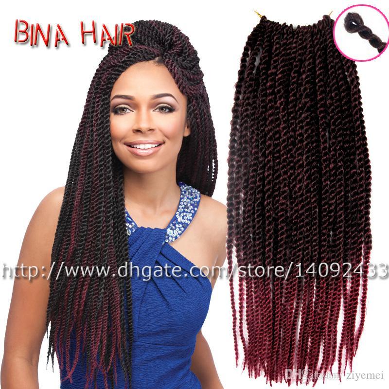 Bina 18crochet senegalese braid kanekalon crochet twist hair see larger image pmusecretfo Image collections
