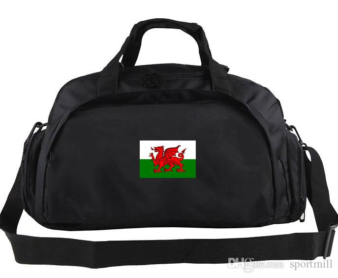 Welsh Duffel Bag Wales Country Team Logo Tote Outdoor Shoulder ... bc971e25c2