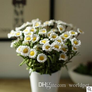 Acheter Nouvelle Arrivee Decoratif Fleurs Marguerite Romantique De
