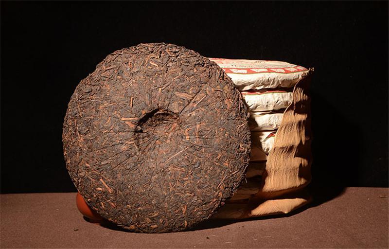 357g Зрелый пуэр чай Yunnan Старый Banzhang Классический Пуэр Чай Органические Pu'er Старое дерево Приготовленный пуэр Натуральный пуэр черный Пуэр чай торт