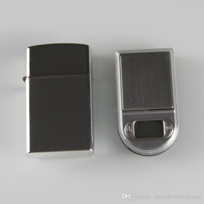 200g x 0.01g Mini Lighter Style Digital Scales For Gold And Diamond Scale Jewelry 0.01 Balance Gram Electronic Scales