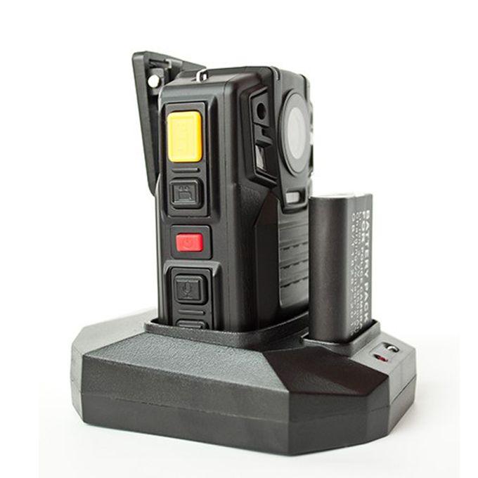 GPS 1080 P WV8 Vücut Yıpranmış Kamera Ambarella A7L50 Yonga Seti IR Gece Görüş 8 Saat Çıkarılabilir Pil PPT Fonksiyonu BWC Kamera