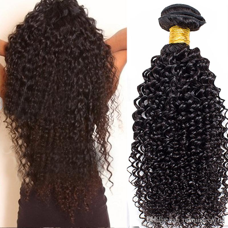 2018 2017 New Style Synthetic Long Hair Extensions Water Wave Curly