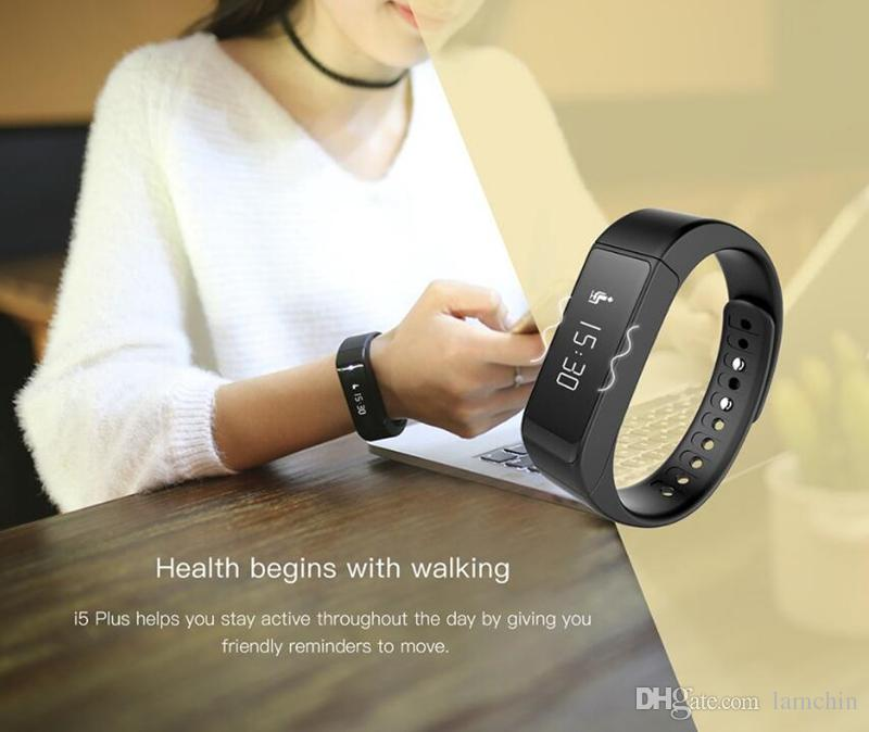 I5 Plus Smart Bracelet Wrisband Bluetooth Wireless Fitness Pedometer Activity Tracker with Steps Counter Sleep Monitoring Calories Track