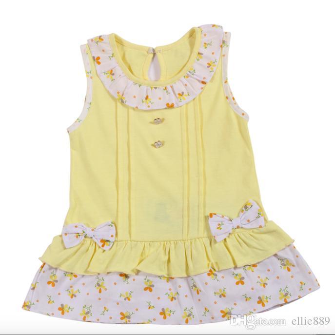 Großhandel Großhandel Baby Kleidung 2017 Baby Floral Gedruckt Ein ...