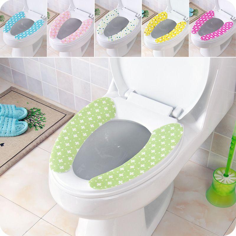 Adhesive Closestool Mats Toilet Seats Covers Magic Toilet Seat ...