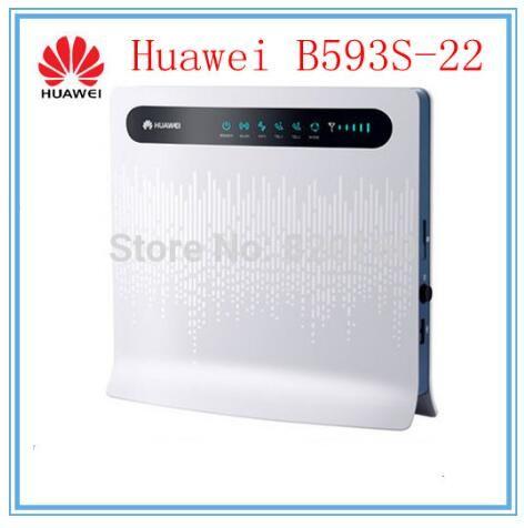 Free shipping HUAWEI B593 4G WIFI Router unlocked 4G 150Mbps LTE CPE  wireless gateway B593s-22