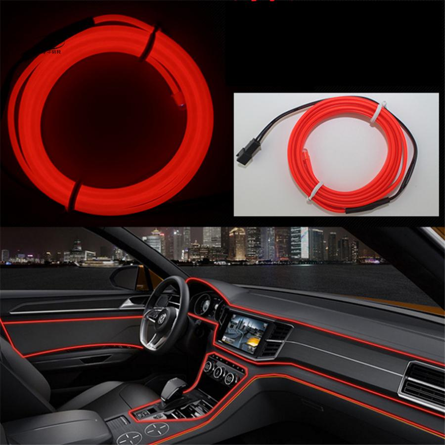 Best Diy Led Decoration Neon Light 12v 5meters Car Interior Led ...