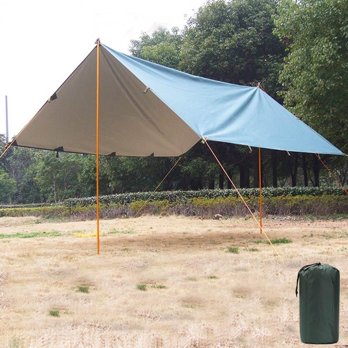 3mx3.2m Ultralight Outdoor C&ing Tent Coating Canopy Lightweight Oxford Gazebo Beach Sun Shelter Outdoor Beach Travel Kits Cat Shelter Shelter Homes From ... & 3mx3.2m Ultralight Outdoor Camping Tent Coating Canopy Lightweight ...