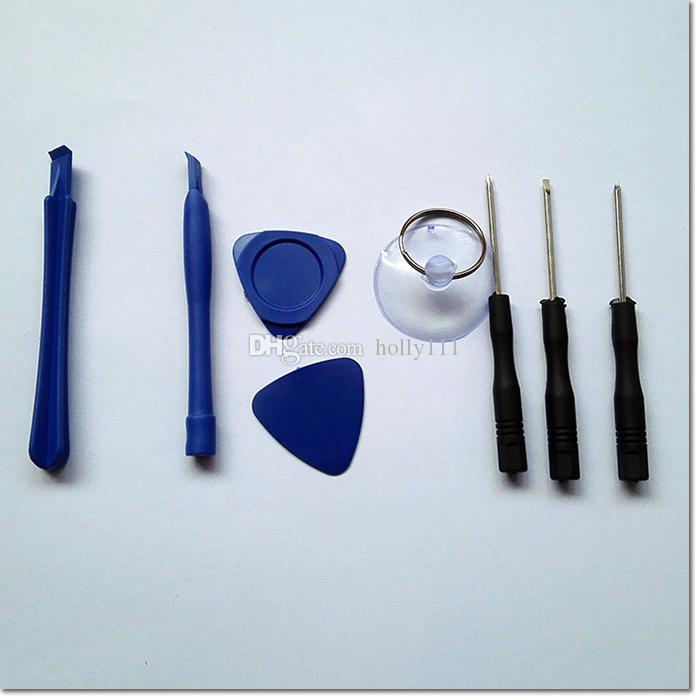 Universale 8 in 1 Strumenti di riparazione del telefono mobile corredo Repair Tool Set di cacciaviti Iphone Samsung Pacchi accessori Herramientas