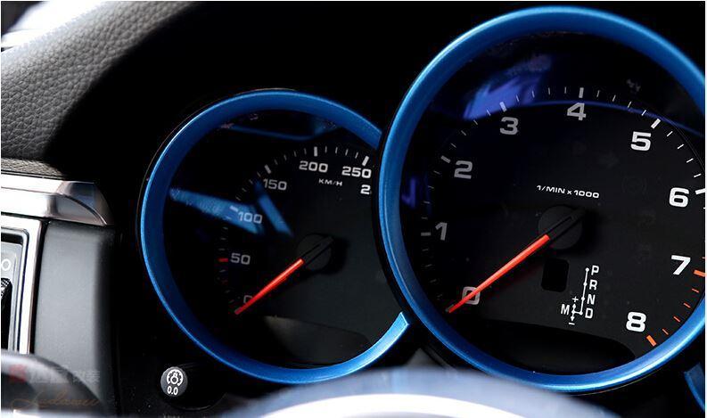 car dashboard decoration cover trim for porsche macan (11)