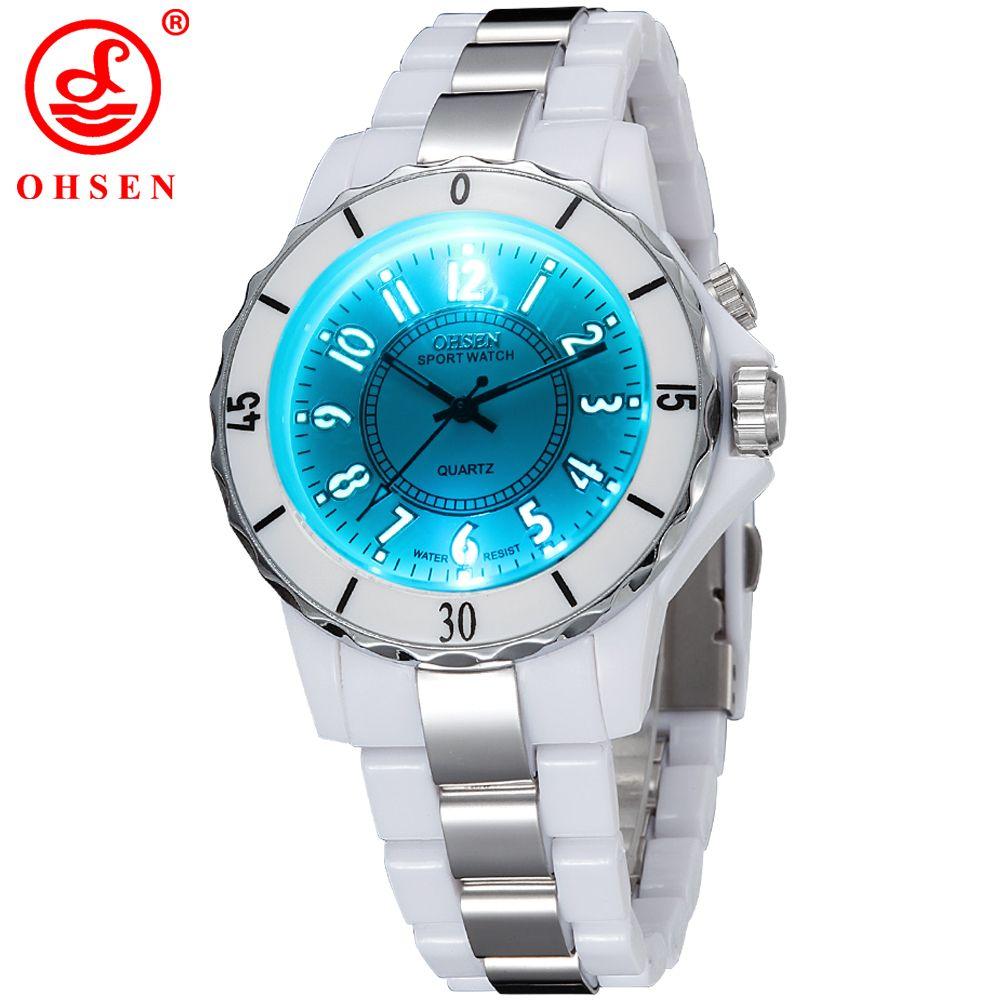 158953e6834 OHSEN Famous Brand Men Sports Watches Flash LED Analog Quartz Watch Outdoor  Casual Wristwatches Relogio Masculino Wholesale W025 Sports Watches Quartz  Watch ...