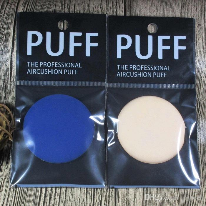 Neue Silikon Make-up Schwämme Mixer Set Blending Powder Smooth Puff Beauty Foundation Latex Schwamm farbenfroh mit Kleinkasten