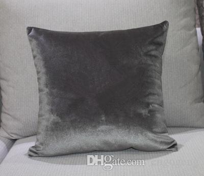 클래식 브랜드 무늬 C 쿠션 커버 45x45cm 베개 커버 가짜 베개 커버가없는 고급스러운 패션 디자인 로고가 베개
