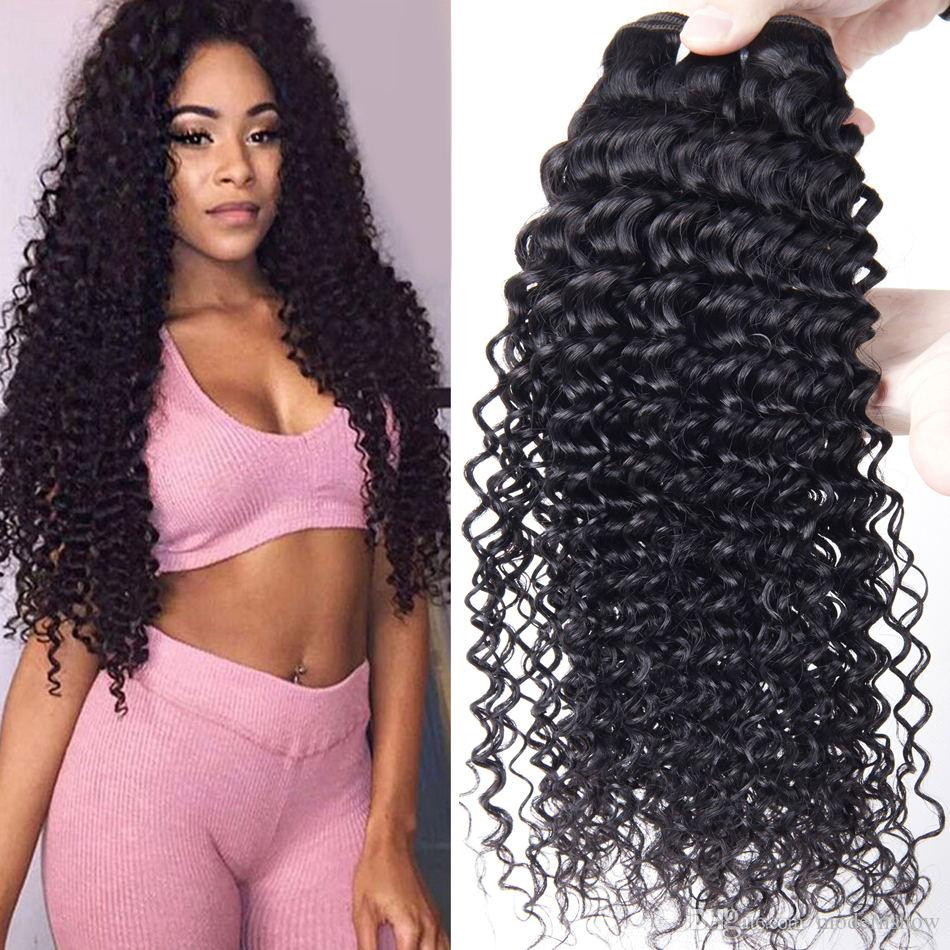 Brazilian Human Hair Curly Weave 4 Bundles Brazilian Virgin Hair